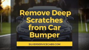 How to Remove Deep Scratches from Car Bumper